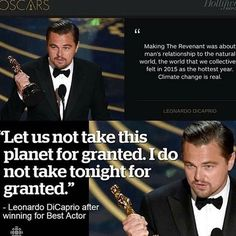 Double  Tap for @leonardodicaprio  #oscars #leonardodicaprio #courage #weareone  It's Time! #TakeAction on everything now.  Welcome!  InsprMe is Art. Activism. Cannabis. Clean Energy. Design. EcoProducts. Environment. Inspiration. PosNews & Solutions.  Tag a friend to join us! Thanks  #InsprMe #LawofOne #Awake #Conscious #Consciousness #Namaste #Inspiration #Earth #Gaia #Eco #Sustainable #Renewables #Solar #Wind #CleanEnergy #Activists #Protest #Energy #Love #InnerPeace #Hippie #Solutions