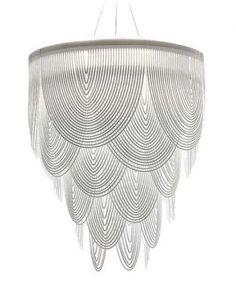 Ceremony chandelier by Slamp, designed by Bruno Rainaldi. @designerwallace: