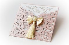 Scroll Envelope Laser Cut Custom Wedding Invitations Card FREE shipping