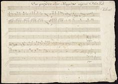 Haydn, Joseph, 1732-1809. Trios, piano, strings, H. XV, 30, E♭ major. Presto. Selections . Piano trio in E♭ major, H. XV, 30, end of the Presto : autograph manuscript, 1796?