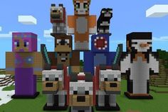 Minecraft L for Lee | ... garden stampylongnose and l for lee in real life minecraft amy lee in