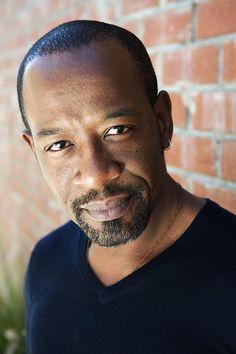 Lennie James - actor - plays Morgan on The Walking Dead.  (born 10/11/1965 London, England)