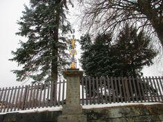 Křížek ve Chřibské - severní Čechy