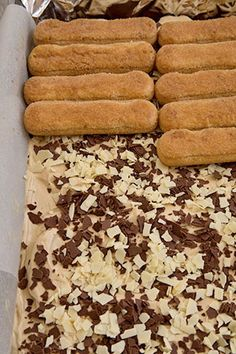 Cheese Pastry, Tiramisu, Banana Bread, Cake Recipes, Deserts, Good Food, Sweets, Candy, Diet