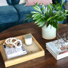 Square Tray, Coffee Table Tray, Triangle Shape, Staple Pieces, Have Some Fun, Just Giving, Go Shopping, Home Interior Design, Floral Arrangements