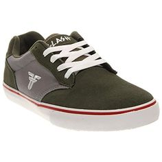 7fd9b4dd4b277a Fallen Mens Slash Women s Skateboarding Shoes Shoe Surplus GreenCement Grey  115 M US -- Check
