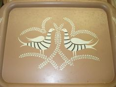 8 Vintage Metal Trays by SuzysTreasures on Etsy, $20.00-Not my style but cool for someone else.