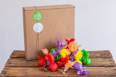 Greenbomba, Pack de 50 bombas de semillas. Flores Silvestres. El mejor detalle para sembrar primavera entre tus invitados www.greenbomba.com