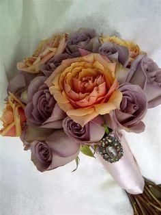 Vintage style roses Bouquet