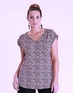 Blusa Basement Animal Print $7.000.-