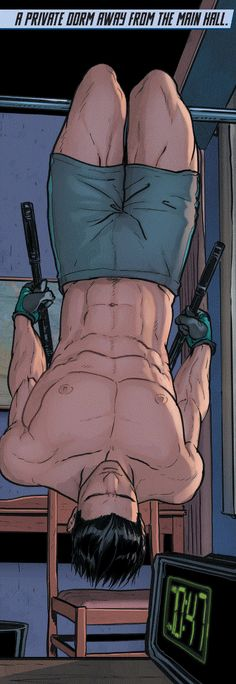 Grayson issue 1  Dick Grayson