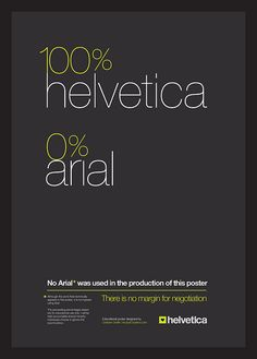 helvetica lover, arial hater.