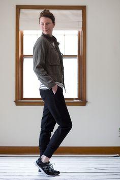 Woven Hudson Pant (pattern by True Bias) - Noodlehead