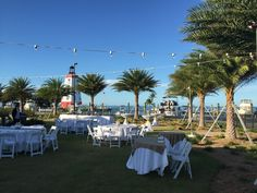 Another great outdoor Wedding Reception at Faro Blanco! #Wedding #Reception #Bride #Groom #SweetheartTable #Decor #StringLighthing