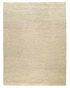 Chunky Braided Wool Rug - textural appeal of a favorite sweater. The substantial wool yarns are plush and soft underfoot, and exceedingly resilient due to the felted construction. Cream