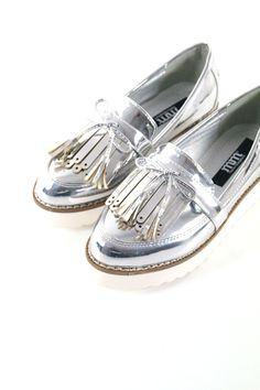 Silver SHOES www.mariamangerica.com