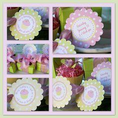 cupcake invites