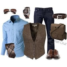 Instagram photo by realmensfashion - A great look for casual Fridays at work and then take