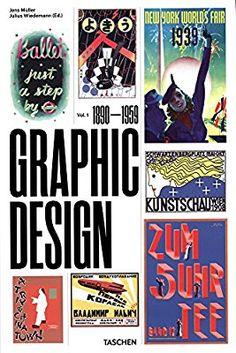 History of Graphic Design: Vol. 1, 1890-1959 (Multilingual Edition): Jens Müller, Julius Wiedemann: 9783836563079: Amazon.com: Books