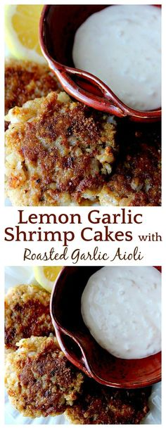 I'd heard of crab cakes, but never shrimp cakes! After trying these I may never go back! This is an amazing shrimp recipe that's a nice change from the usual! And the aioli recipe....I could eat it by the spoonful! I've also make these gluten free and no