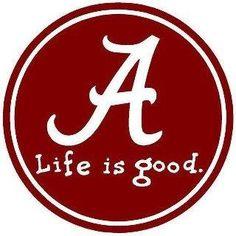 love Alabama Football, I'm sure