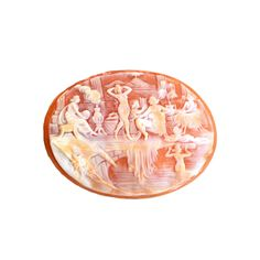 Bathing Muses Cameo