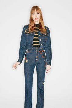 Sonia Rykiel - High-waisted pants for fall 2016.