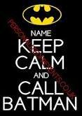 Batman is on his way!