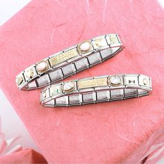 Create your bracelet! Link in Bio Nomination Bracelet, Italian Style, Charmed, Watches, Fashion Bracelets, Earrings, Jewelry, Italy, Lifestyle