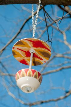 DIY Bird Feeder from the April/May Issue of Smart Blonde & Crafty Magazine