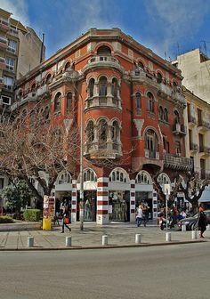 """Τhe """"Red House"""" in Thessaloniki Этот дом недавно купил Иван Саввидис"""