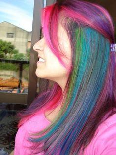* Pam News: Cabelos coloridos