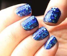 blue sparkle :)