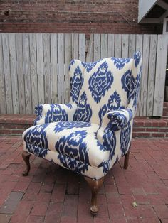 Accent Chair - Spice Route. $595.00, via Etsy.