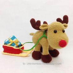 Reindeer And Sleigh - Amigurumipatterns.net