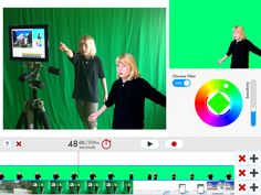 Easy-to-Use Green Screen App by DoInk Available Now in iTunesGreen Screen: This app from DoInk lets users create green screen videos from mobile devices. Users can combine up to three image sources at one time, use live or prerecorded video, and more. http://blog.doink.com/post/65521377506/easy-to-use-green-screen-app-by-doink-available-now-in