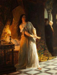 Charles Soubre (1821‐1895), Lady Macbeth – 1877