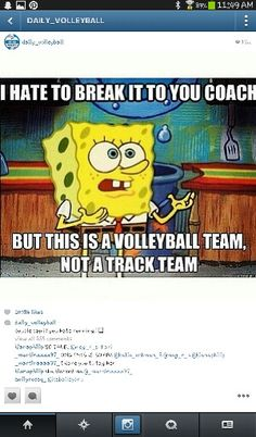 Discover and share Volleyball Quotes And Jokes. Explore our collection of motivational and famous quotes by authors you know and love. Volleyball Jokes, Volleyball Motivation, Volleyball Workouts, Volleyball Drills, Volleyball Sayings, Volleyball Training, Volleyball Inspiration, Cortez, Sports Memes