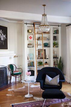 The Makerista: Laura's Living Room Reveal