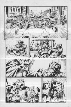 Army of Darkness Furious Road #5 Original Comic Page 13 Ash Evil Dead by Kewber