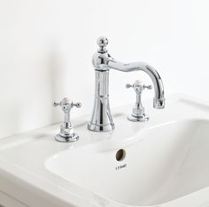 Designed by John Hart, our founder's son, Original brassware merges classic Edwardian proportions with modern quarter-turn technology. This basin mixer is unique in design, and will suit any #traditional #bathroom