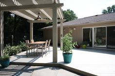DIY Pergolas >> http://blog.diynetwork.com/tool-tips/2013/02/19/pictures-of-a-diy-pergola/?soc=pinterest#