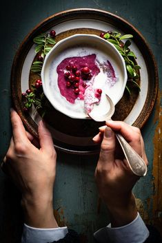 Forget semolina, whipped lingonberry rye porridge is slowly cooked with fine rye flour for rich flavors. Serve 'vispipuuro' cold with milk or cream. Semolina Recipe, Fancy Dishes, Breakfast Porridge, Porridge Recipes, Rye Flour, Evening Snacks, Sweet Desserts, Winter Food, Classic Recipe