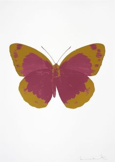 The Souls II - Loganberry Pink - Oriental Gold | Damien Hirst, The Souls II - Loganberry Pink - Oriental Gold