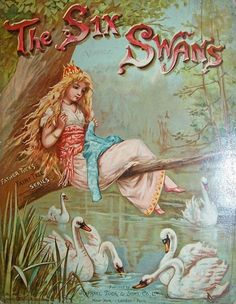 The Six Swans -- Fairytale Illustration