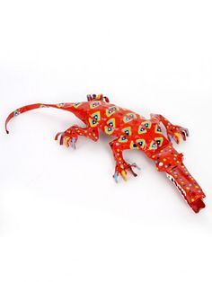 Large Tin Crocodile, $36.