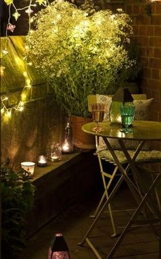 Luminaries 15 Tiny Balcony Lighting Tips Small Balcony Design, Small Balcony Garden, Small Space Gardening, Terrace Garden, Balcony Ideas, Patio Ideas, Outdoor Balcony, Garden Ideas, Backyard Ideas