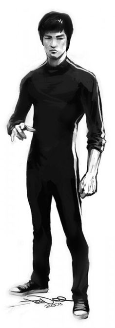Bruce drawing