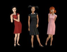 "leesester: "" Collar Dress for TF by Skellington7d Download on leefish """