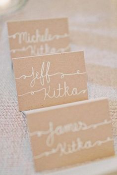 brides of adelaide magazine - neutral wedding - beige wedding - elegant - sophisticated - place cards